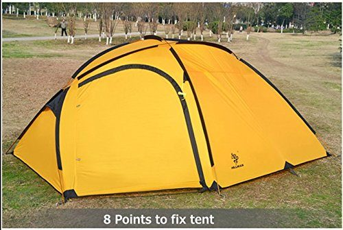 new concept ab98f fc775 GEERTOP 4-person 3-season Family Backpacking Alpine Tent For Camping,  Hiking, Climbing, Travel – With A living room