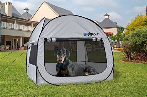 GigaTent-Pet-PopUp-Tent-with-Fitted-Foam-Pad- & GigaTent Pet PopUp Tent with Fitted Foam Pad (Large) | Discount ...