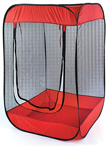 super popular 0dd0c aabdf Insect, Bug & Mosquito Pop-Up Screen Chair Tent Red