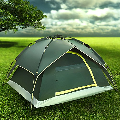 Instant Dome Tent 2 3 Person Automatic Double Layer