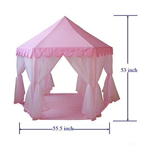 Kid-Indoor-Princess-Castle-Play-TentPortableFun-Outdoor-Large-  sc 1 st  Discount Tents Nova & Kid Indoor Princess Castle Play TentPortableFun® Outdoor Large ...