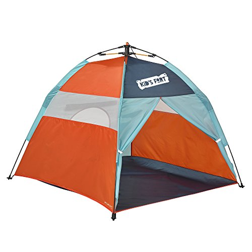 lightspeed outdoors kids fort pop up play tent with tunnel entrance discounttentsnova. Black Bedroom Furniture Sets. Home Design Ideas