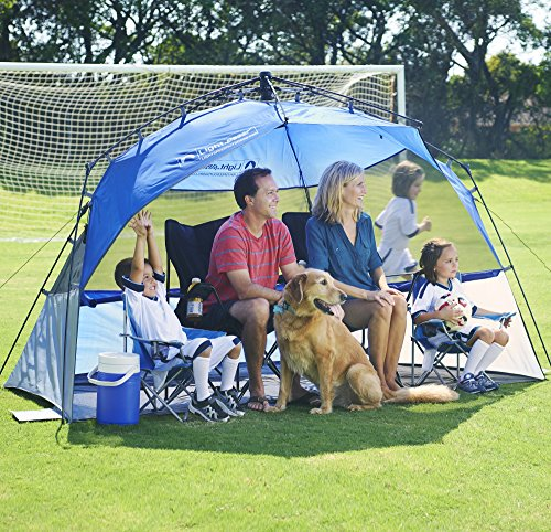 Lightspeed-Outdoors-Pop-Up-Sport-Shelter-Beach-Tent- & Lightspeed Outdoors Pop Up Sport Shelter Beach Tent Blue ...