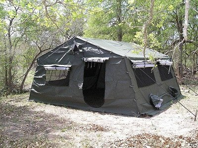 Military Army Frame Type Expandable Tent 16 X 16
