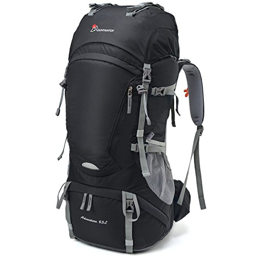 Mountaintop 65l Outdoor Hiking Backpack Camping Backpack