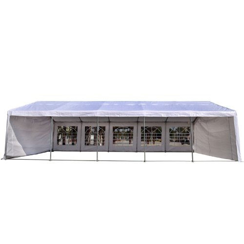Outsunny 16W X 32D Outdoor Carport Canopy Party