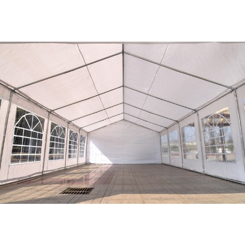Outsunny 16\'W x 32\'D Outdoor Carport Canopy Party Tent with ...