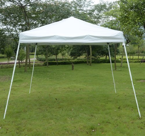 Outsunny Slant Leg Easy Pop-Up Canopy Party Tent 8 x 8-Feet White | DiscountTentsNova & Outsunny Slant Leg Easy Pop-Up Canopy Party Tent 8 x 8-Feet White ...