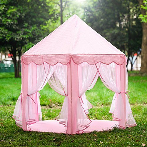 Pink-Princess-Castle-Play-Tent-Big-Play-House- & Pink Princess Castle Play Tent Big Play House for Kids Playtent ...