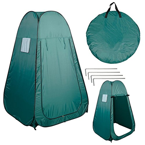 big sale adb95 f65a4 Super buy Portable Pop UP Fishing & Bathing Toilet Changing Tent Camping  Room Green
