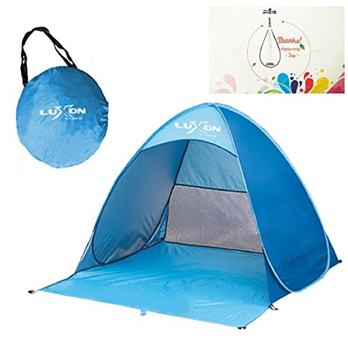 Automatic Pop Up Instant Portable Outdoor Beach Tent Sun Shelter