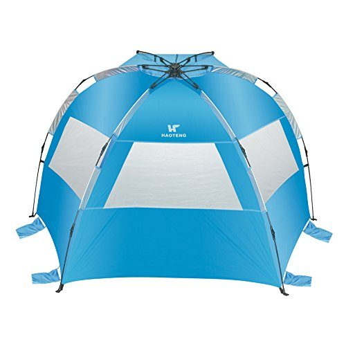 Beach Tent Compact Outdoor Portable Beach Sun Shade