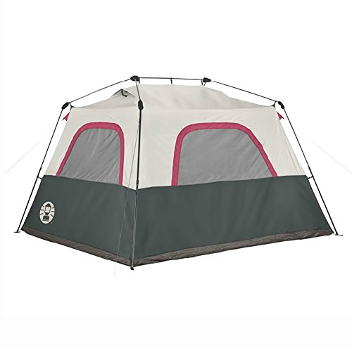 Coleman 6 Person Family Camping Instant Cabin Tent 10 X 9