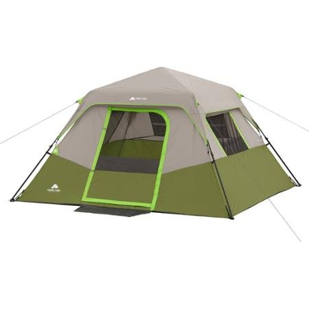 Green Gray Ozark Trail 6 Person Instant No Assembly