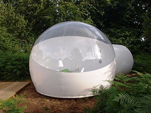 Inflatable Bubble Tent Dia4m With 2m Tunnel Outdoor Family