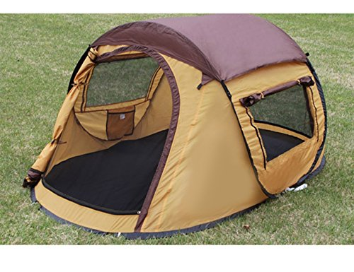 Luxetempo-2-Person-Pop-Up-C&ing-Tent-for- & Luxetempo 2 Person Pop Up Camping Tent for Recreation Seconds ...