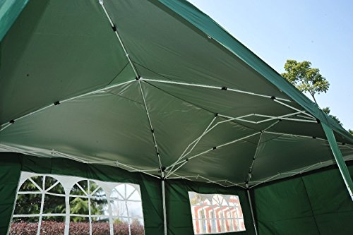 Outsunny Easy Pop Up Canopy Party Tent 10 X 20 Feet