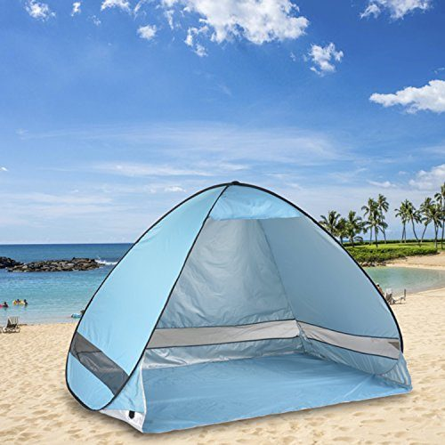 Oversized Pop Up Beach Tent Sun Shelters Automatic Xxl