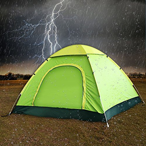 Pop-Up-C&ing-Tent-by-TSWA-Automatic-Instant- & Pop Up Camping Tent by TSWA u2013 Automatic u0026 Instant Setup Dome ...