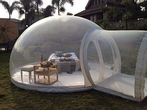 Relaxnow Tm Single Tunnel Transparent Bubble Tent Outdoor