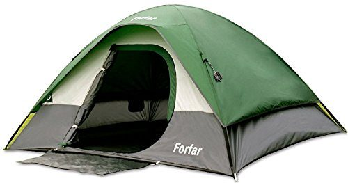 Forfar Camping Tent Family Tent 3 Persons 3 Seasons